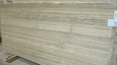 Silver Travertine Marble Slab
