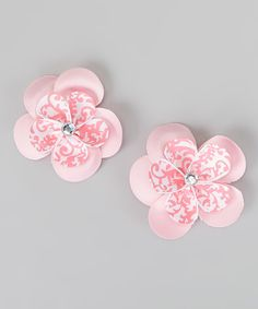 This Chicky Chicky Bling Bling Pinky Pie Sweetie Pie Flower Clip - Set of Two by Chicky Chicky Bling Bling is perfect! #zulilyfinds
