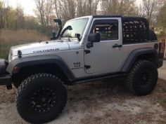 2008 Jeep Wrangler JK 2 Door by Tanimal http://www.4x4builds.net/2008-jeep-wrangler-jk-2-door-build-by-tanimal