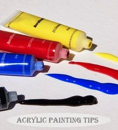 Acrylic Painting 101 - For those who are new to the use of this material, Acrylic Painting 101 offers a few tips to help you get started.