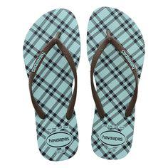 Sandálias Havaianas Slim Retro Azul - havaianas