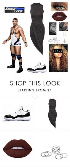 """How You Meet Jason Jordan"" by queenreigns-916 ❤ liked on Polyvore featuring Concord, Club L, Lime Crime, Minor Obsessions and WWE"