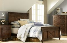 Legacy Classic Kids - Highland Panel Bed full