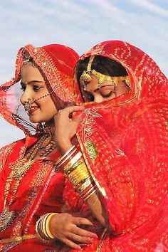 Women in Rajasthan, India #world