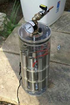 Hydrogen generator design idea Hydrogen Engine, Hydrogen Fuel, Hydrogen Generator, Gas Generator, Waste To Energy, Save Energy, Renewable Energy, Solar Energy, Hho Gas