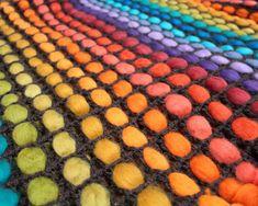 Throw blanket throw afghan knit throw blanket by quirogaquiroga Giant Knit Blanket, Wool Blanket, Knitted Afghans, Knitted Blankets, Hippie Bedding, Chunky Knit Throw, Sofa Throw, Montevideo, Hippy