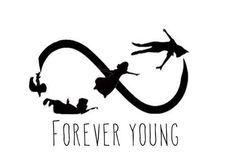 forever young. So cute! but i would never get it