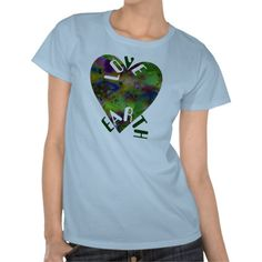 Play In Paint LOVE EARTH Tee Shirt
