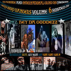The sixth volume of the HIP HOP BANGERS SERIES THIS TIME Hosted By Mz. Bey Da Goddezz this album is packed with Major artists and new artists bringing the bangers you want to hear DJ Femmie in the building big shoutout to Mz. Bey Da Goddezz and her Yummi - enjoy and leave a damn comment they count.R. Kelly , Young Jeezy, Bun B, Yelawolf,  Rick Ross,  Diddy, Meek Mill,  French Montana Gunplay, Kevin Gates,  Verse Simmonds, Travis Porter, London the Track, Yung Yung Yung N, Blitz, Future…