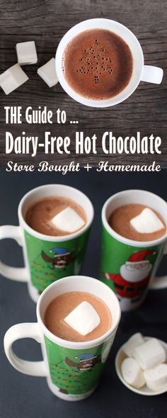 Your Complete Guide to Dairy-Free Hot Chocolate - Brands, Recipes, and Quick Fix Tips! (vegan, gluten-free, too)