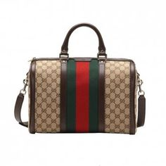 Gucci Signature Web Detail Brown