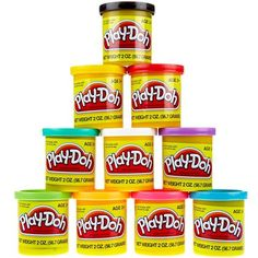 #yoyobirthday  play-doh rainbow case of colors #yoyobirthday