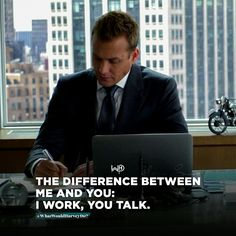Suits is over, But these 56 Harvey Specter quotes will forever motivate you Great Quotes, Me Quotes, Motivational Quotes, Inspirational Quotes, Quotes To Live By, Business Motivation, Business Quotes, Motivation Success, Harvey Specter Suits