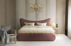 Alege un pat BoxSpring Premium AmiWhite . Bedroom Inspo, Bed Design, Couch, Interior Design, Latex, Pink, Furniture, Home Decor, Bamboo