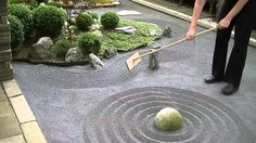 DIY Japanese Zen Rock Garden                              …