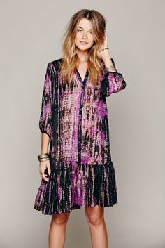 Lotta Stensson Womens Hippie Shirt Dress