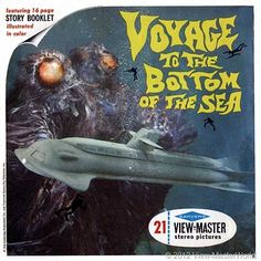 Voyage to the Bottom of the Sea is an American science fiction film, produced and directed by Irwin Allen, released by Century Fox in This viewmaster set however is from the TV sereis that aired in Vintage Toys 1960s, 1960s Toys, Vintage Tv, Retro Toys, 1970s, Gi Joe, View Master, Lost In Space, Old Tv Shows