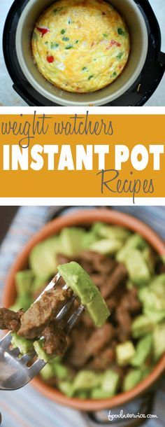 Instant Pot Weight Watchers recipes brings together my favorite kitchen appliance and new weight loss system. There are some delicious Instant Pot Recipes..
