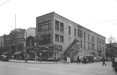 South-West Corner of 1st St and Saginaw St (1930's)