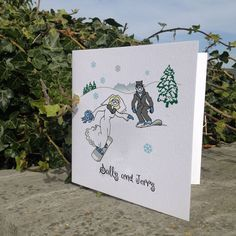 Blue and other color options. For this Snowboard wedding card. Perfect for any Piste wedding. Fun wedding cards with a personal touch Snowboard Wedding, Ski Wedding, Snowboarding, Skiing, Got Married, Getting Married, Wedding Stationery, Wedding Cards, Snowflakes