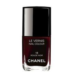 Vernis Rouge Noir de Chanel