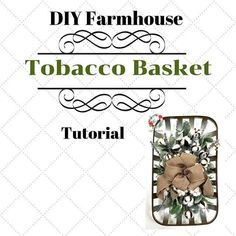 Are you a farmhouse fan like me? Have you seen the popular tobacco baskets … - Basket Decoration and Crates Ideas Tobacco Basket Decor, Tree Topper Bow, Tree Toppers, Diy Wreath, Wreath Bows, Plaid Decor, Christmas Bows, Christmas Decor, Home Decor Hacks