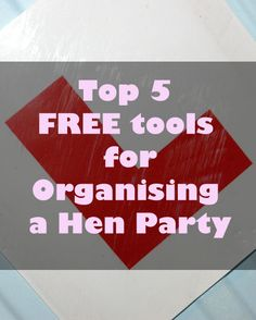 Find out the best FREE online tools for planning an amazing Hen Night!  Hen Do Heaven and the download is totally free Bridesmaid Ideas, Be My Bridesmaid, Classy Hen Party, Girls Together, Hens Night, Alcohol Free, Afternoon Tea, Party Planning, Heaven