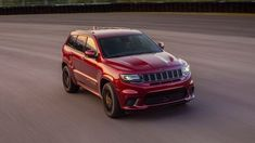 2018 Jeep Grand Cherokee Trackhawk Review The All Powerful Suv With Images Jeep Grand Cherokee Suv Jeep