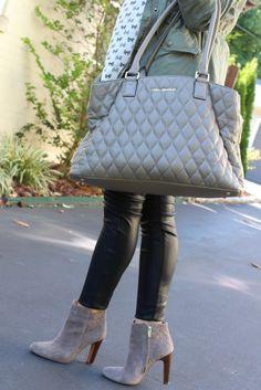Glitter and Gingham : the perfect fall bag via Vera Bradley!