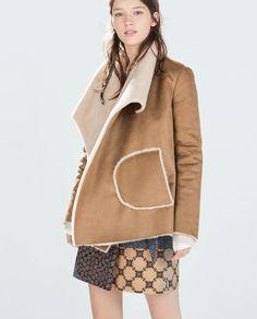 DOUBLE-SIDED COAT from Zara