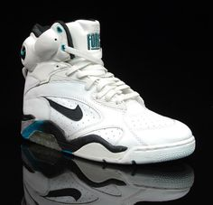David Robinson's Nike Air Foce Pumps. I got these when they first came out and I became an instant celebrity in my school.