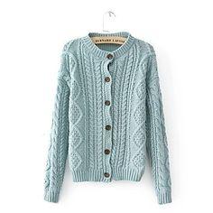 beautiful knitted cardigan