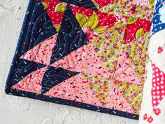 Mirage Quilt Kit by Janice Ryan featuring Boundless Flower Shoppe Fabric | Craftsy