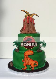 Jurassic Park cake | Cakes and More by Nora