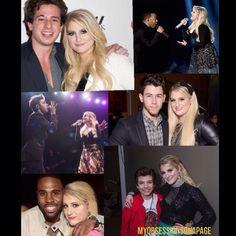 Meghan n a few guests she's sung with. John legend, Nathan Sykes, Charlie Puth, Etc... (An edit I made)