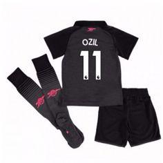 Arsenal Mesut Ozil 11 Dětské Alternativní dres komplet 17-18 Krátký Rukáv