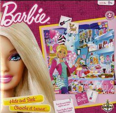 Gladius, Cherche et trouve, Barbie, 4+ ans. 14.99  Disponible en boutique ou sur notre catalogue en ligne. Livraison rapide au Québec.  Achetez-le info@laboiteasurprisesdenicolas.ca
