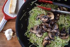 Zucchini Noodles #MeatlessMonday