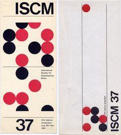 ISCM 37 — Wim Crouwel (1963)