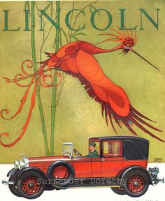 1926 Lincoln Automobile Advertisement