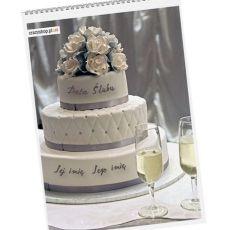 Kalendarz NA ZAWSZE RAZEM idealny na urodziny
