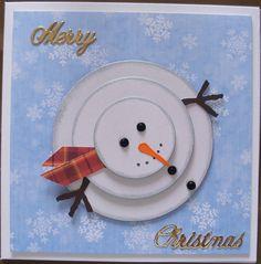 Snowmen, Diys, Christmas Cards, Decorative Plates, Gift Ideas, Holiday Ornaments, Xmas, Christmas E Cards, Snowman