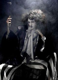 Italian Glamour hair by Leon Gorman for Cutler Salon.