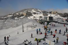 Snow Australia - a regular saturday on the slopes at Hotham, Victoria, Australia #snowaus