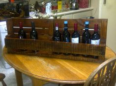 #PalletWineRack, #RecycledPallet