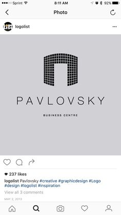 I really like the font and once again the geometric aspects to the logo