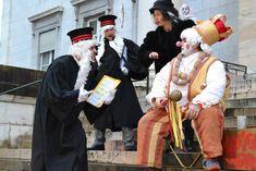 Juiocio a Sent Pançard en Pau, donde finaliza el carnaval tradicional bearnés. cc-by Aure Séguier