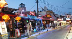 The Strip in Sidari Corfu Greece