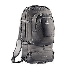 Deuter Transit 50 Black  Anthracite One Size * Click on the image for additional details.(This is an Amazon affiliate link and I receive a commission for the sales)