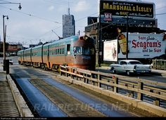 RailPictures.Net Photo: CNSM 803 Chicago North Shore & Milwaukee Railroad Electroliner at Milwaukee, Wisconsin by Frank S Novak